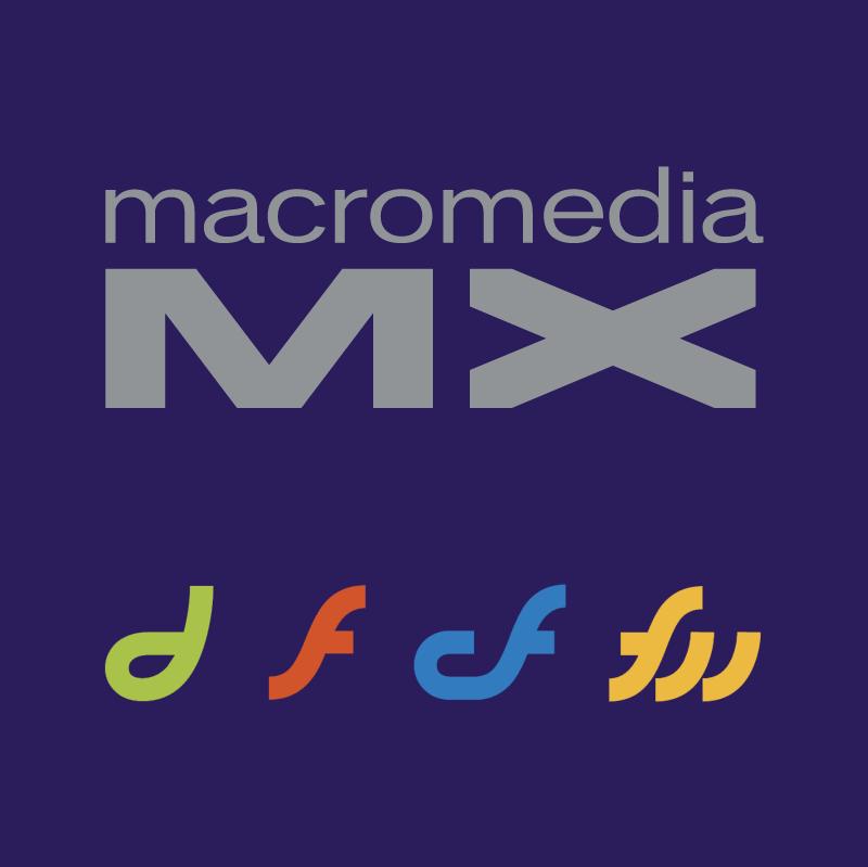 Macromedia MX vector