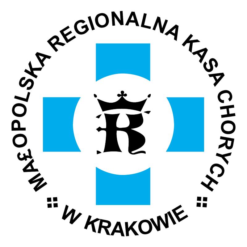 Malopolska Regionalna Kasa Chorych vector