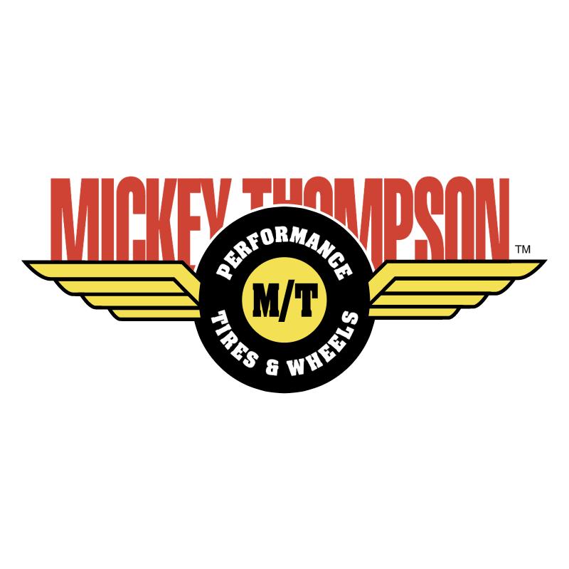 Mickey Thompson vector logo