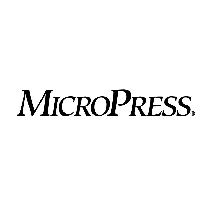 MicroPress vector logo