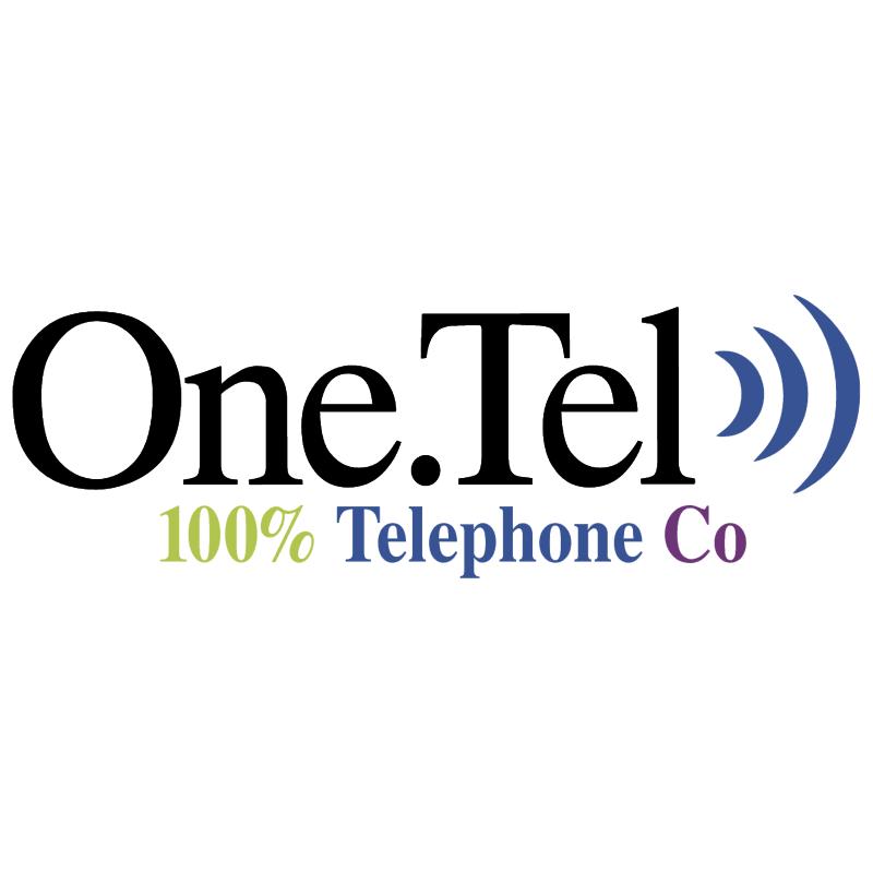 One Tel vector logo