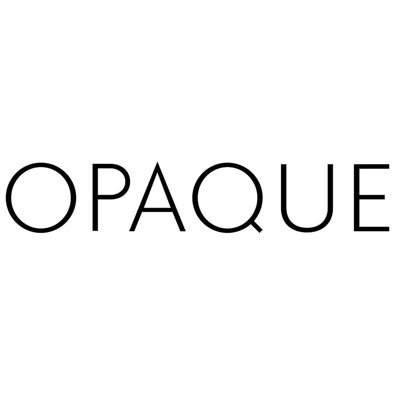 Opaque vector logo