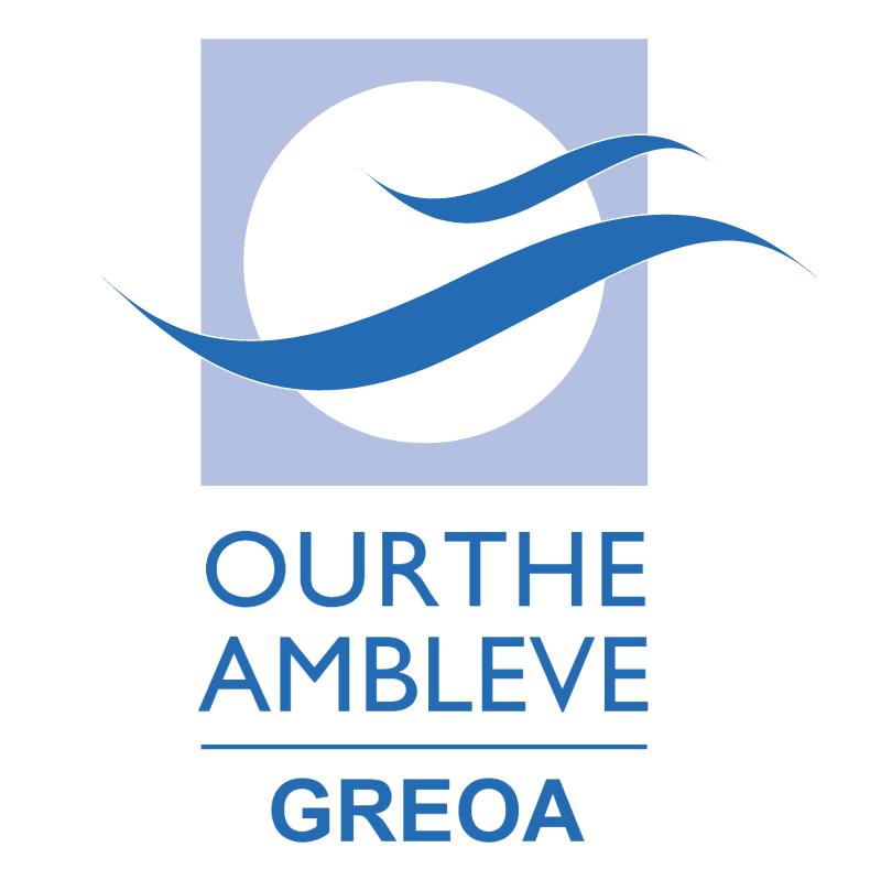 Ourthe Ambleve Greoa vector