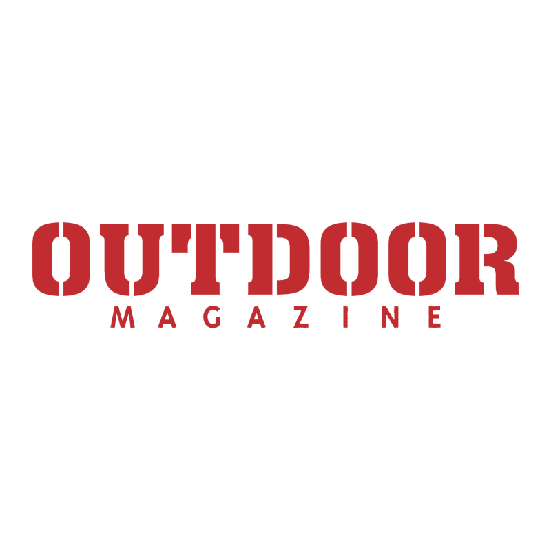 Outdoor Magazine vector logo