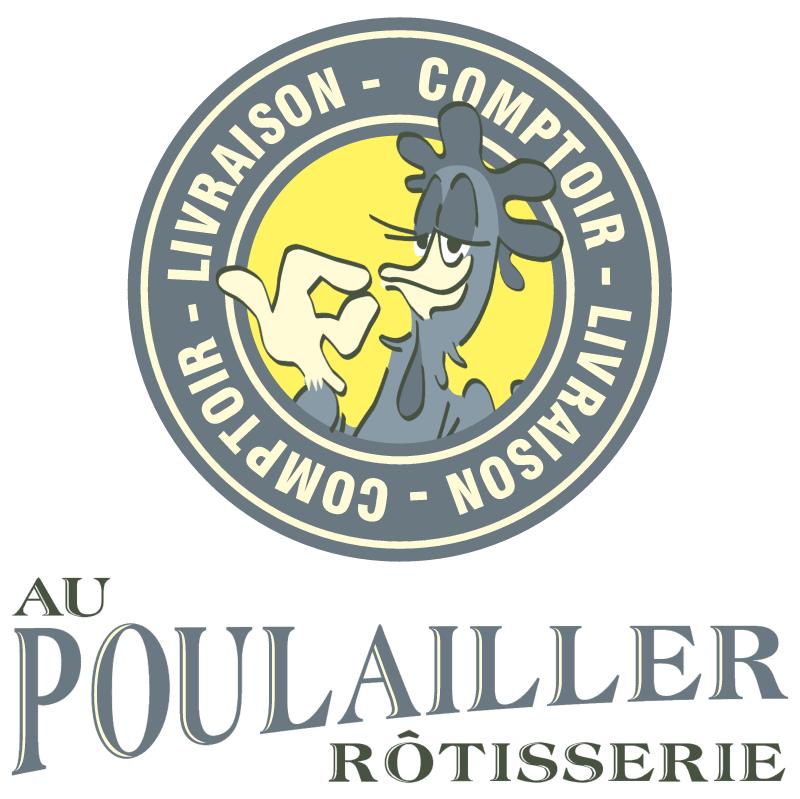 Rotisserie Au Poulailler vector