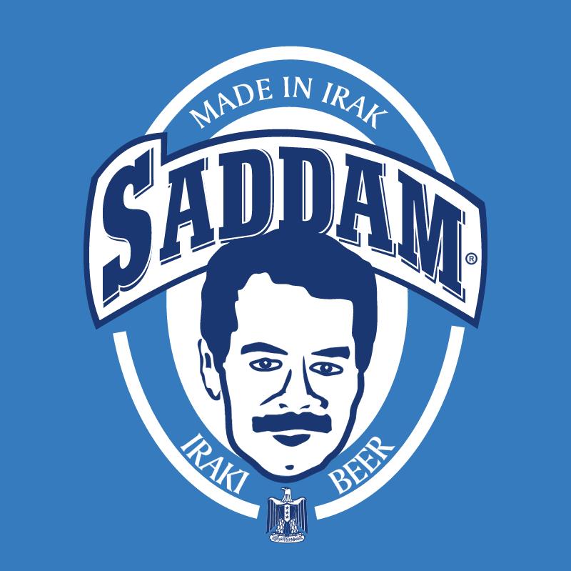 Saddam Beer vector logo