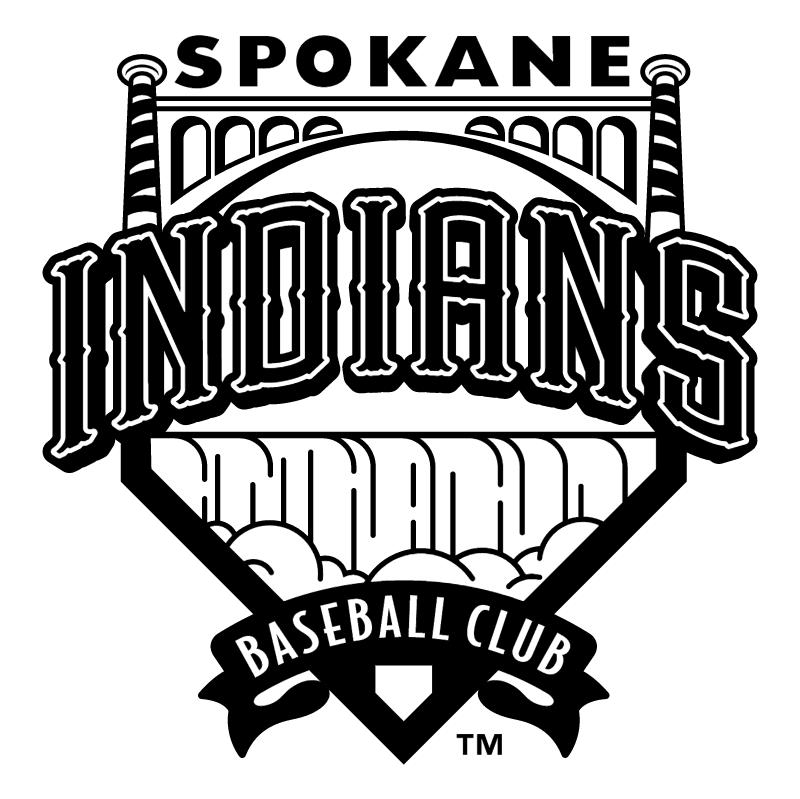 Spokane Indians vector
