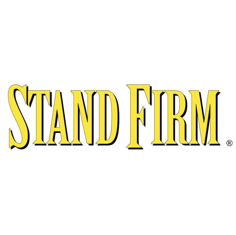 Stand Firm vector