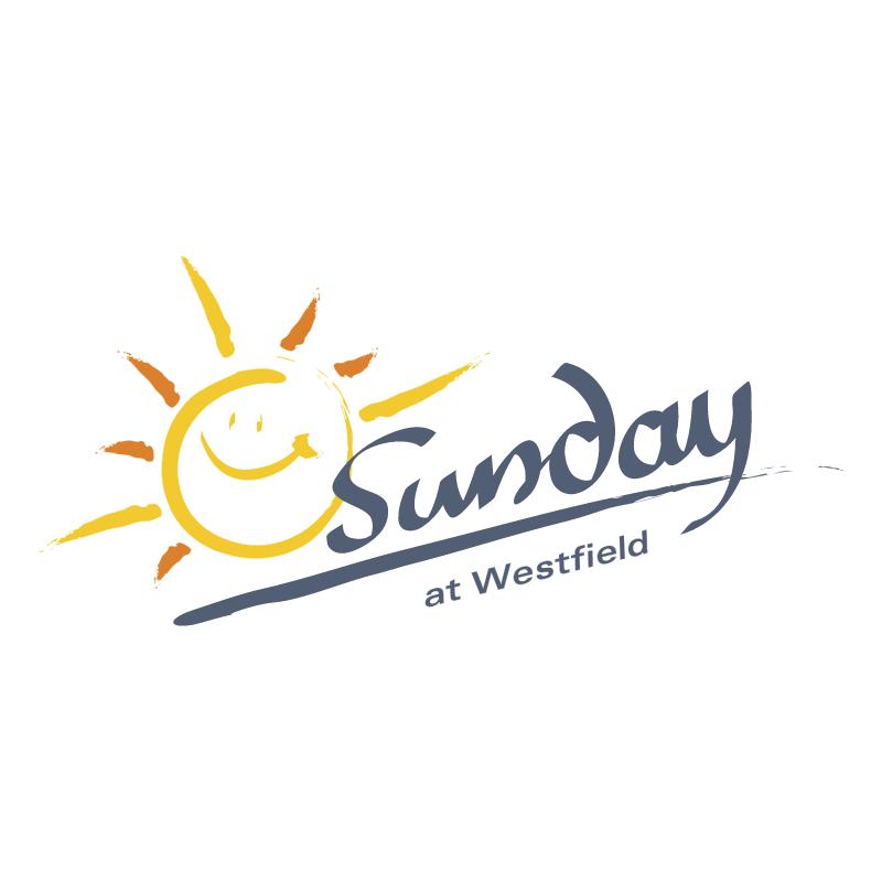 Sunday at Westfield vector logo