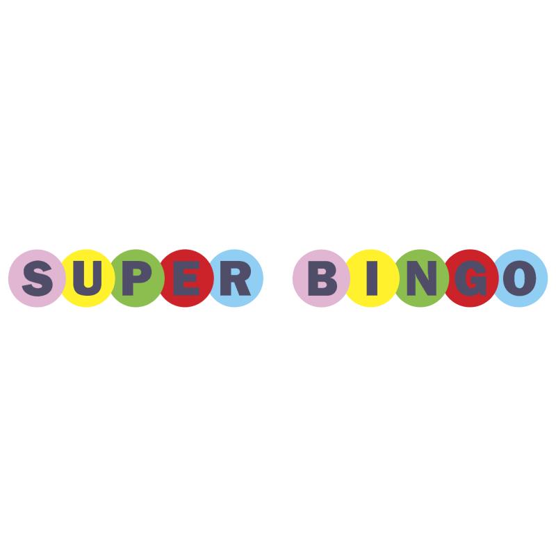 Super Bingo vector logo
