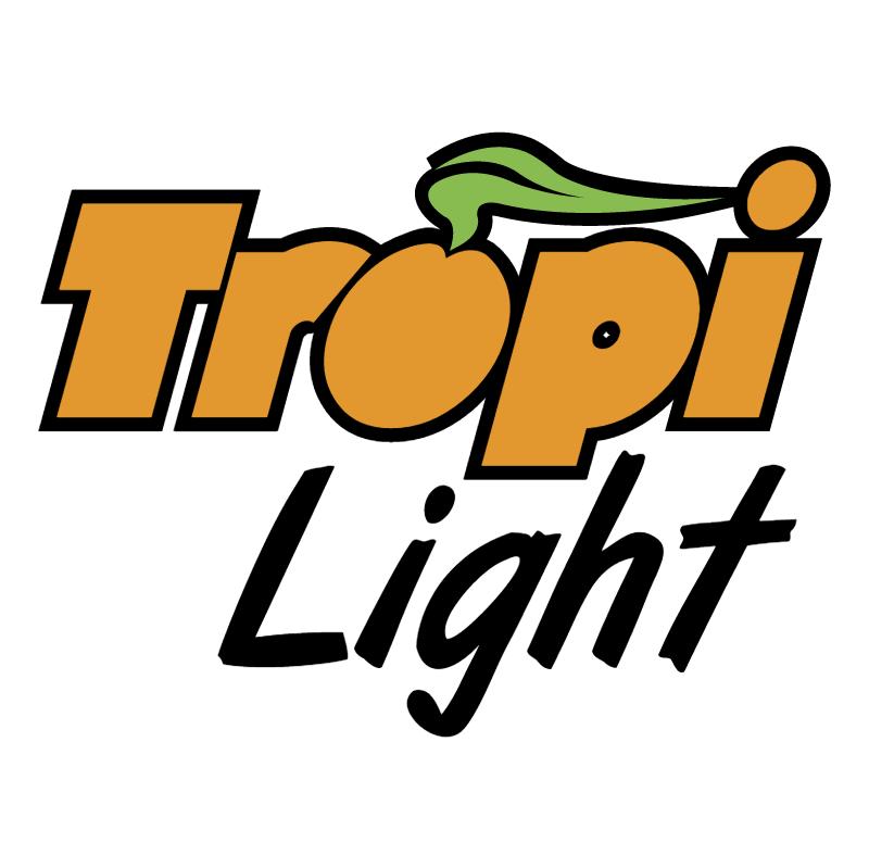 Tropi Light Jugos vector logo