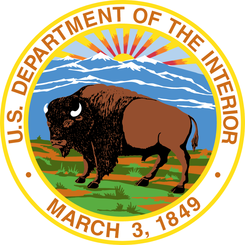 US Department Of The Interior vector