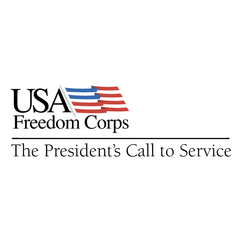 USA Freedom Corps vector logo