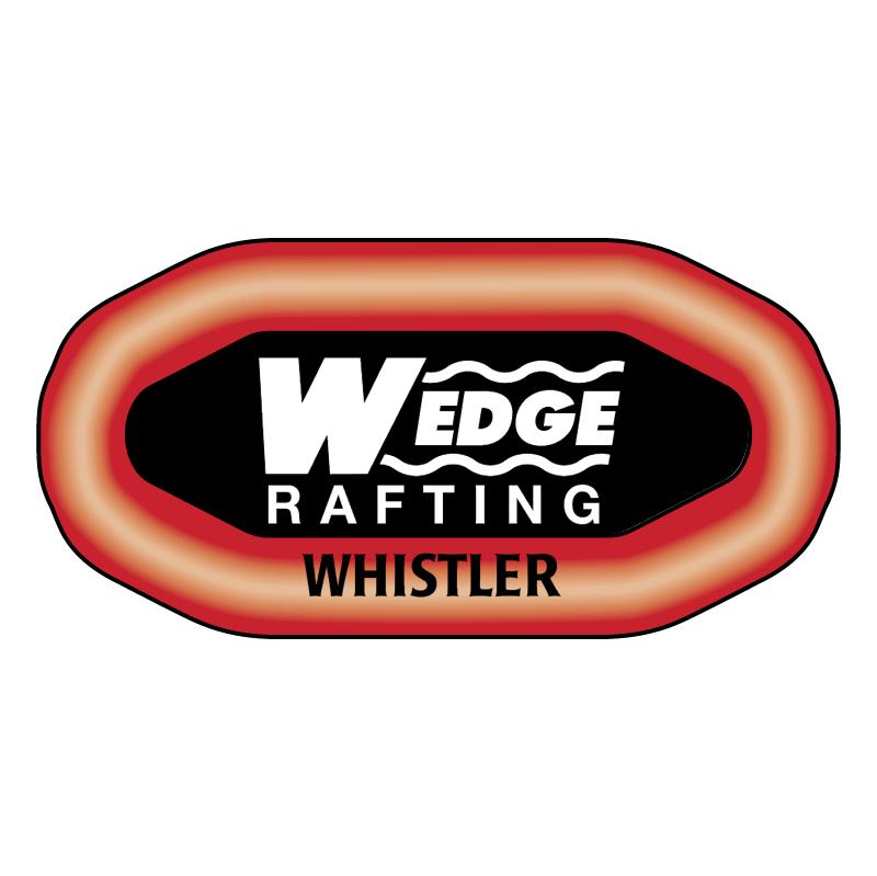 Wedge Rafting vector