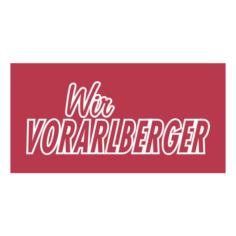 Wir Vorarlberger vector