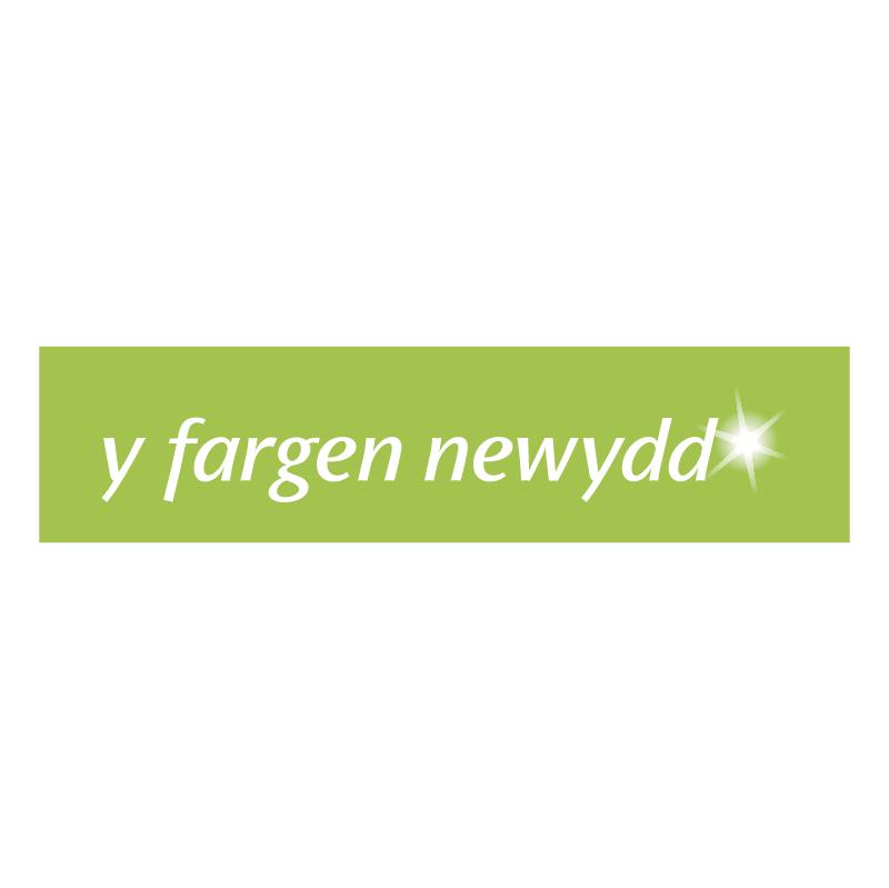 Y Fargen Newydd vector
