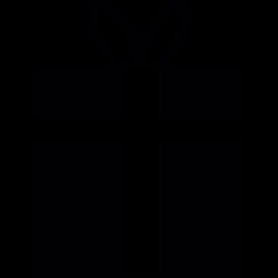 Birthday present vector logo