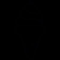 Icecream cone vector
