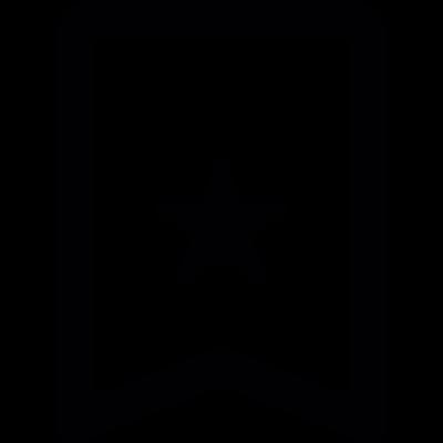 Favourite mark vector logo