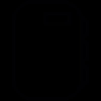 Vintage Walkman vector logo