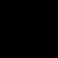 Reflex Photo camera vector