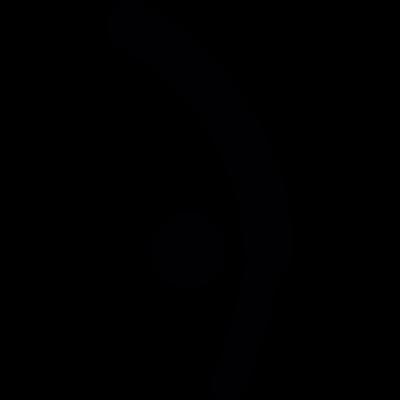 Gymnast Somersault vector logo