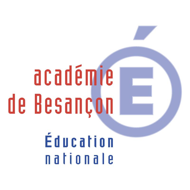 Academie de Besancon 52129 vector