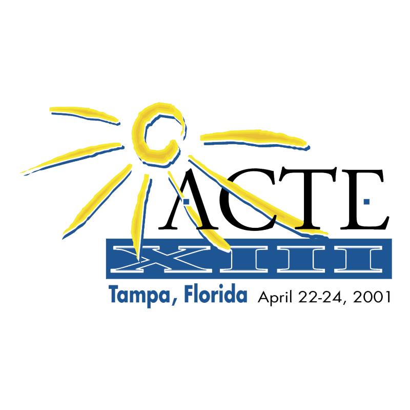 ACTE XIII Tampa 67906 vector