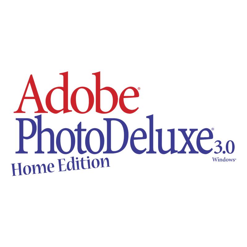 Adobe PhotoDeluxe vector