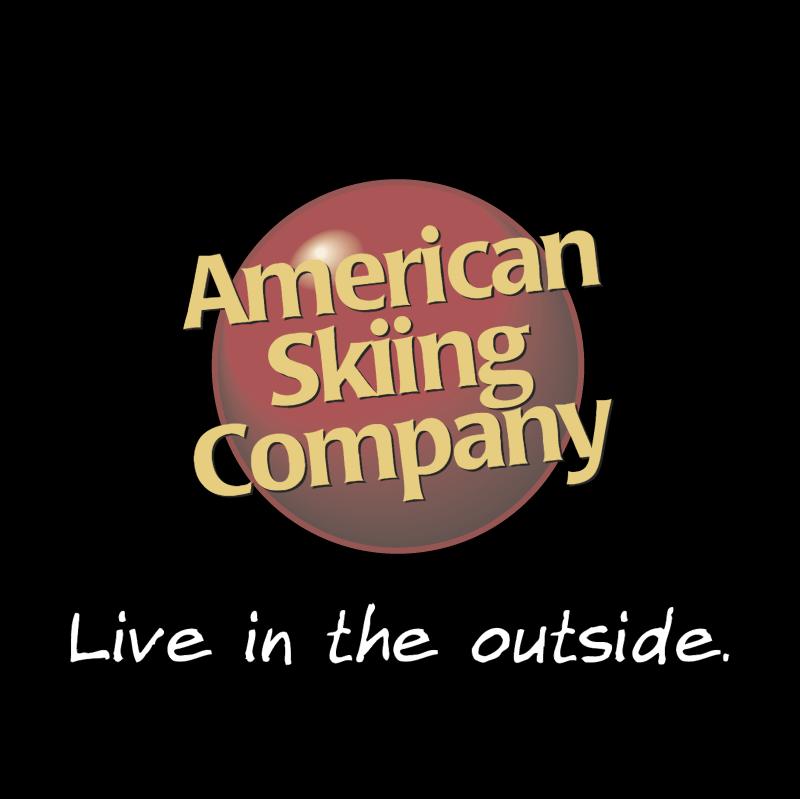 American Skiing Company vector