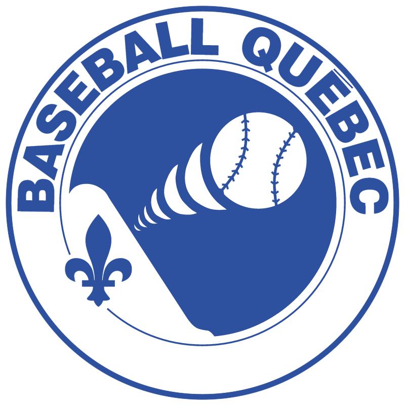 Baseball Quebec vector