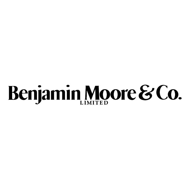 Benjamin Moore & Co vector