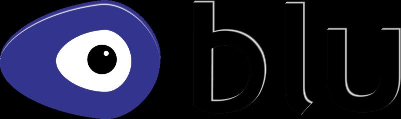 Blu logo vector