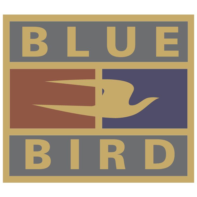 Blue Bird 905 vector