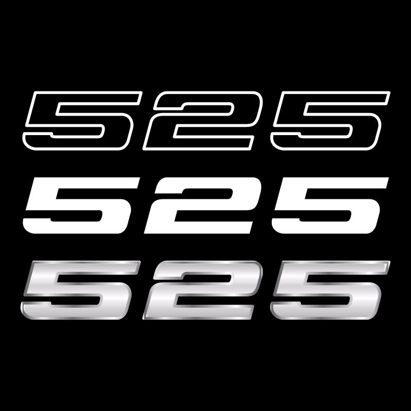 BMW 525 vector
