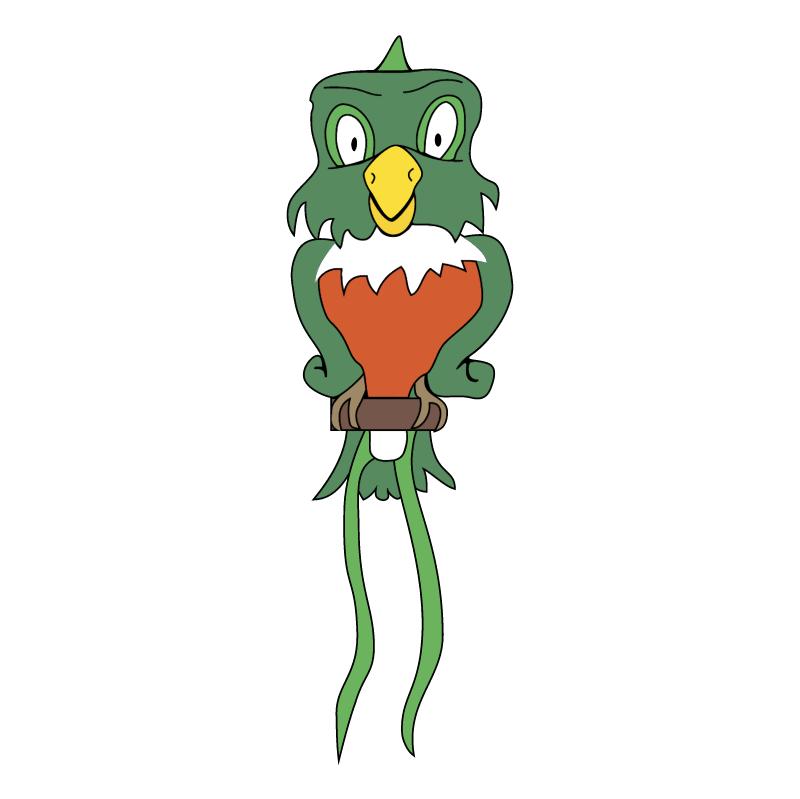 Cafe Bar le Quetzal vector logo