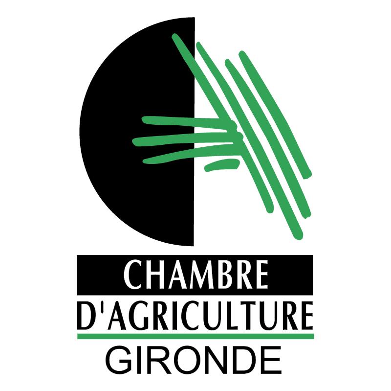 Chambre D'Agriculture Gironde vector logo