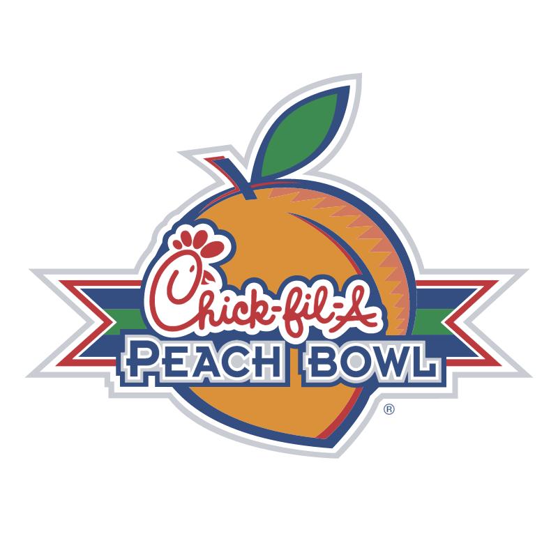Chick fil A Peach Bowl vector