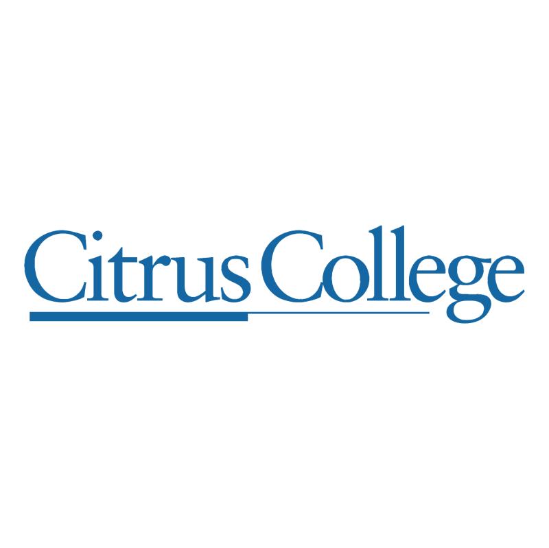 Citrus College vector