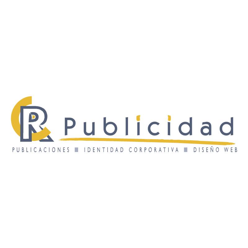 CR Publicidad vector