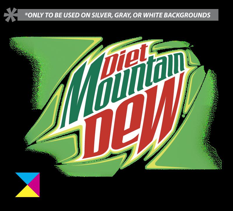 DIET MOUNTAIN DEW vector