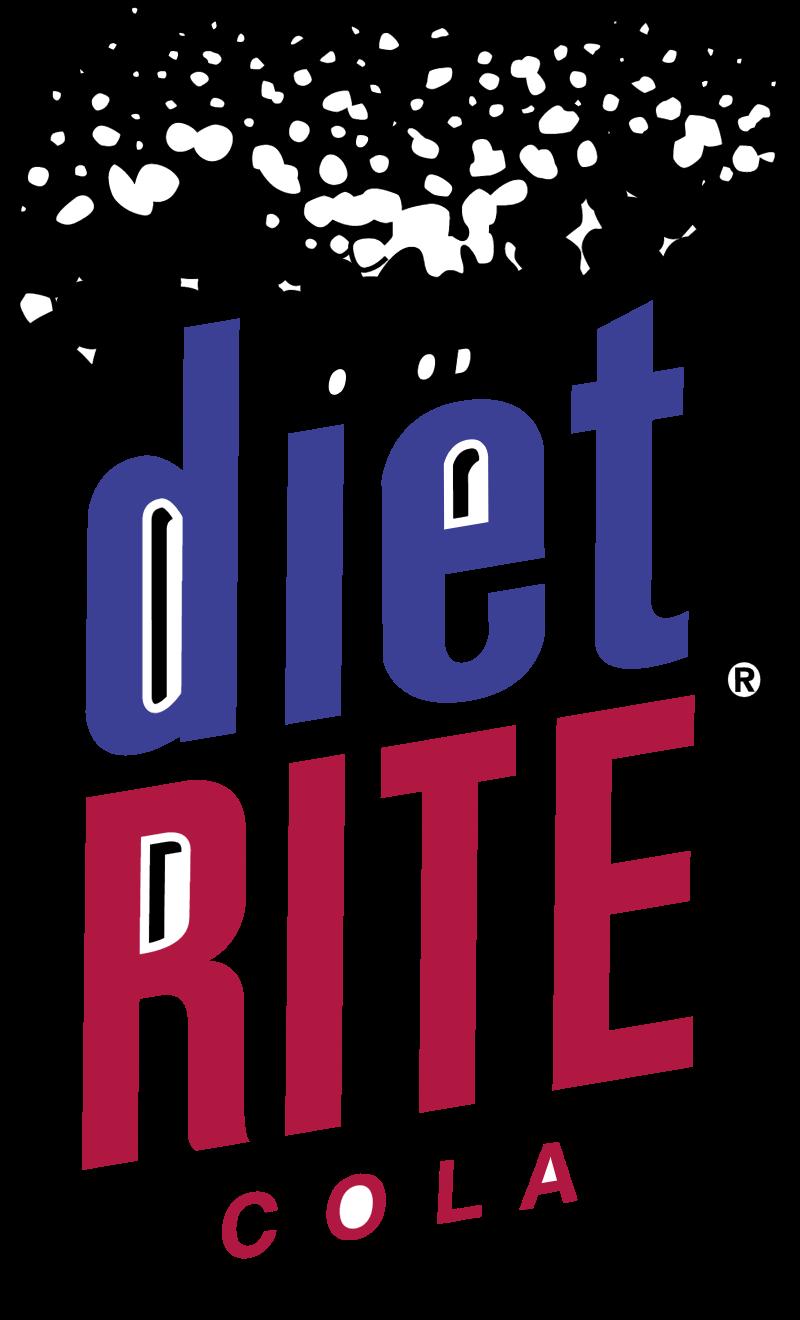 Diet Rite Cola 2 vector