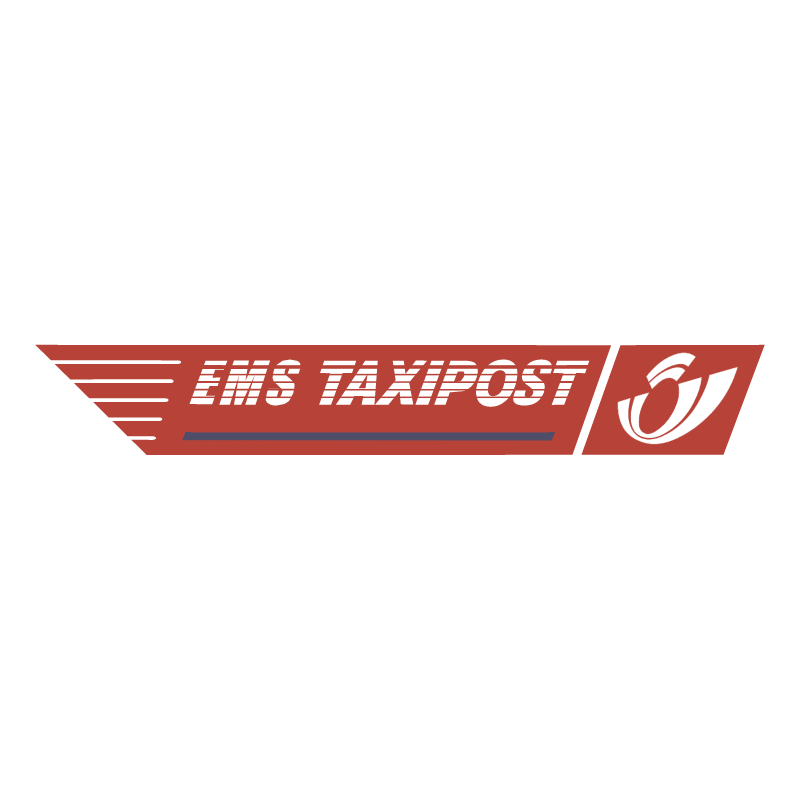 EMS Taxipost vector