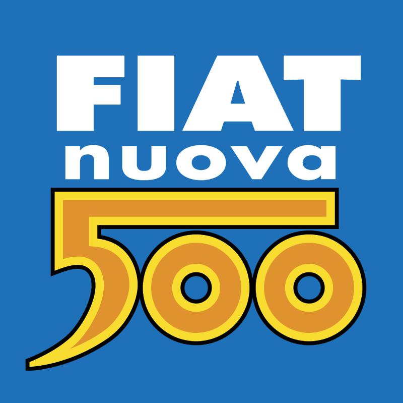 Fiat nuova 500 vector