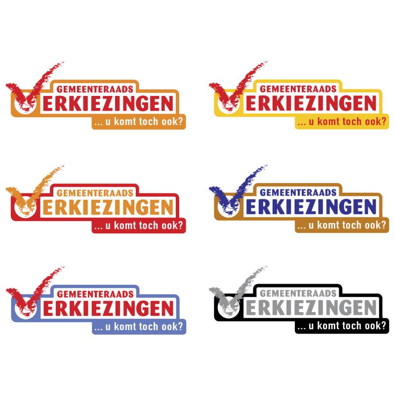 Gemeenteraadsverkiezingen 2002 vector logo