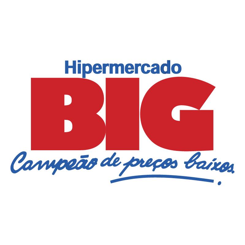 Hipermercado BIG vector