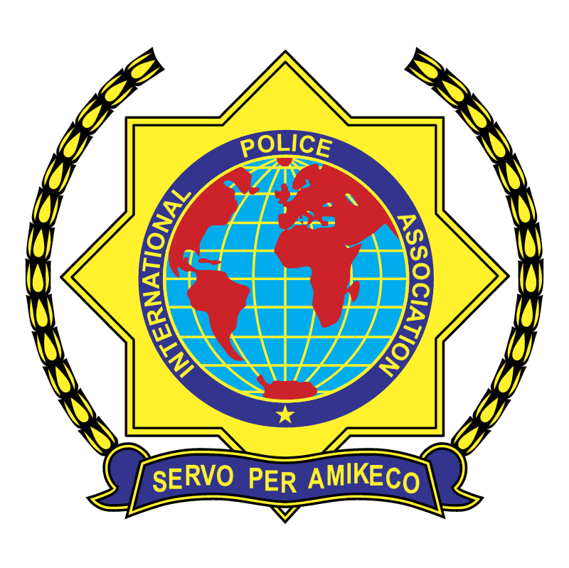International Police Assosiation vector