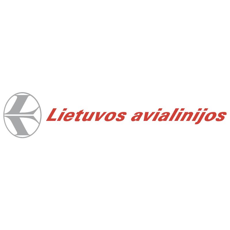 Lietuvos Avialinijos vector logo