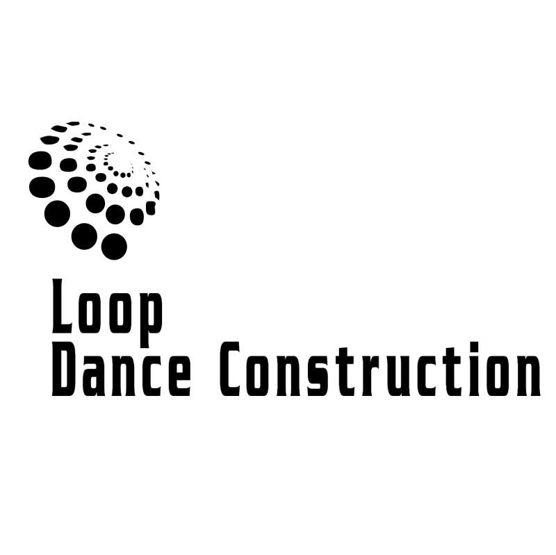 Loop Dance Construction vector