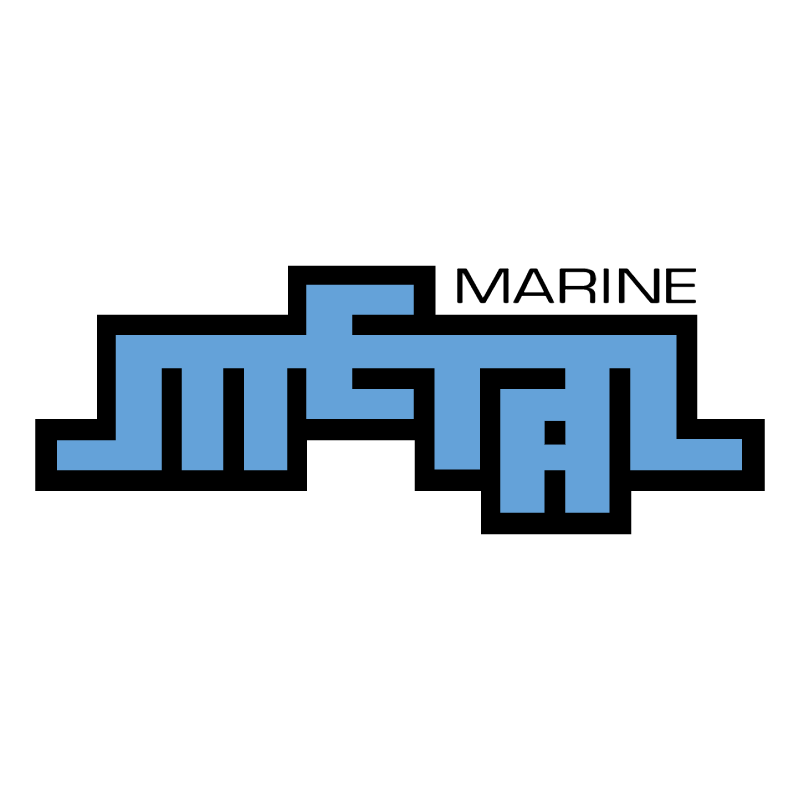 Marine Metal vector